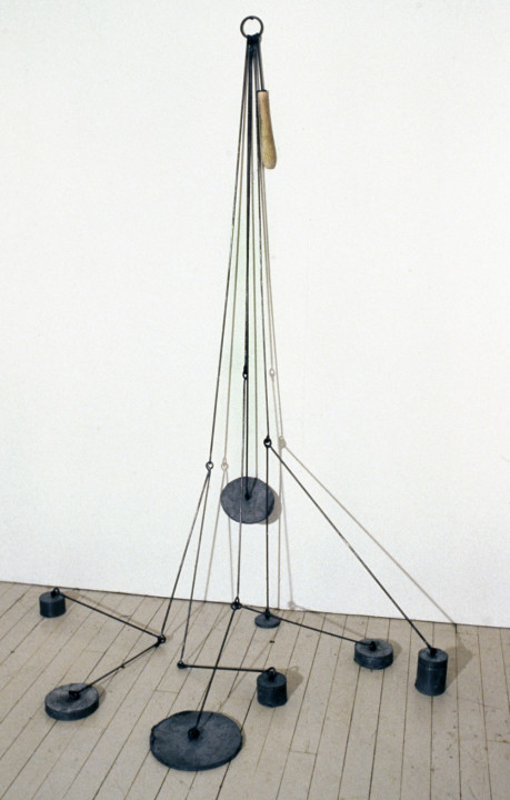 "Locator (60""x40""x35"") steel, lead, wood"