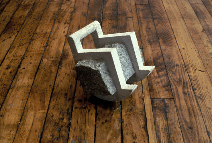 "Rocker (10""x10""x9"") granite, concrete"
