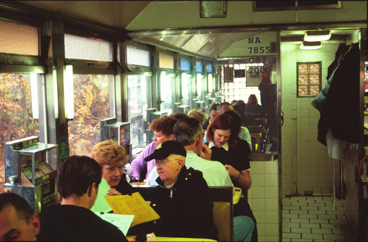 American Diner: Then and Now Gutman, Richard J.S